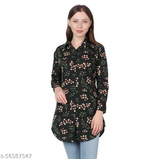KE-31 Green Women Shirts