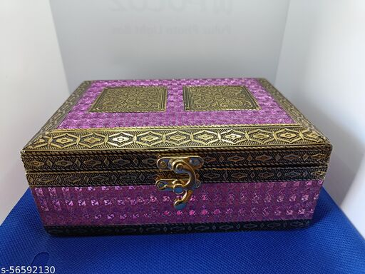 Wooden Handmade Jewellery Box for Women Pooja Aasan & All jewellery boxes tipe…