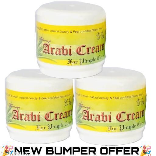 Arabi cream pimple care package of 3