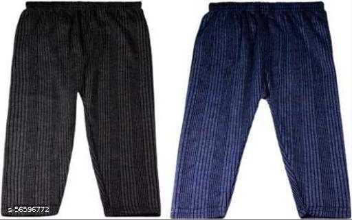 Pyjama For Baby Boys & Baby Girls  (black, Pack of 2)