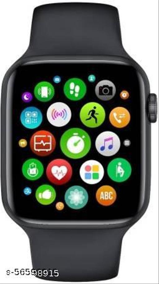 Bluetooth T500 Calling Function Smartwatch for Men Women Fitness Tracker/ Calling/ECG Monitor/Activity Tracker/Heart Rate Sensor(Black)._vol_2