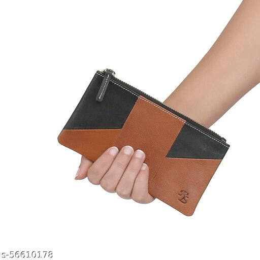 Walletsnbags Wristlet Leather Ladies Wallet Coin
