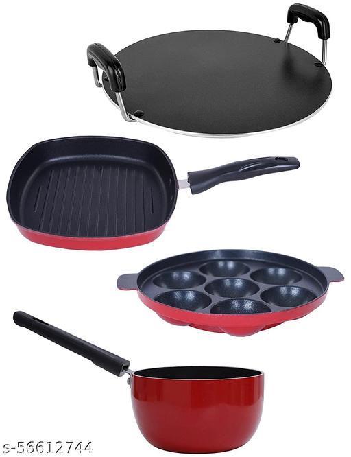Nirlon Non-Stick Mini Cookware Combo Item Set_MC_SP_GP_RT_7AP