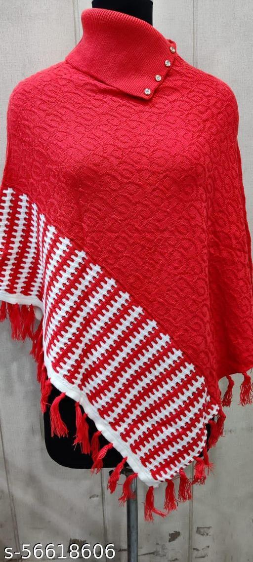 Comfy Fashionable Women Capes, Shrugs & Ponchos