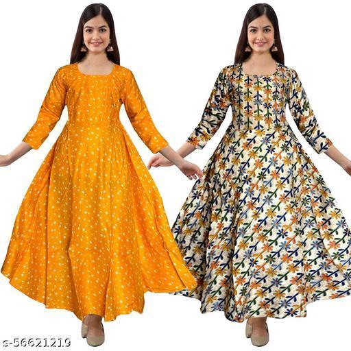 VRSU Elegant Women's Gown