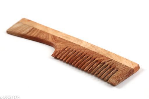 Neem Wood Comb Anti Dandruff Anti Hair Fall