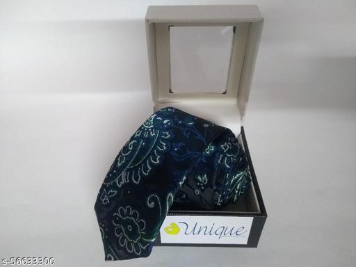Unique Microfiber Premium Blue & Green colored Necktie for Men
