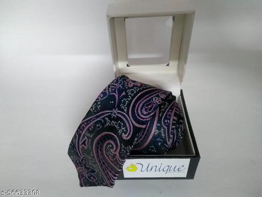Unique Microfiber Premium Purple colored Necktie for Men