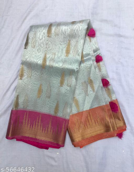 Tissue Banarasi weaving saree
