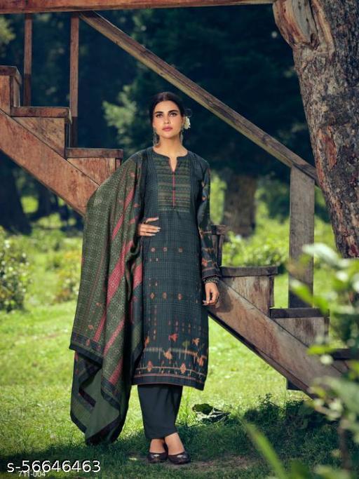 100% Pure Pashmina Suit