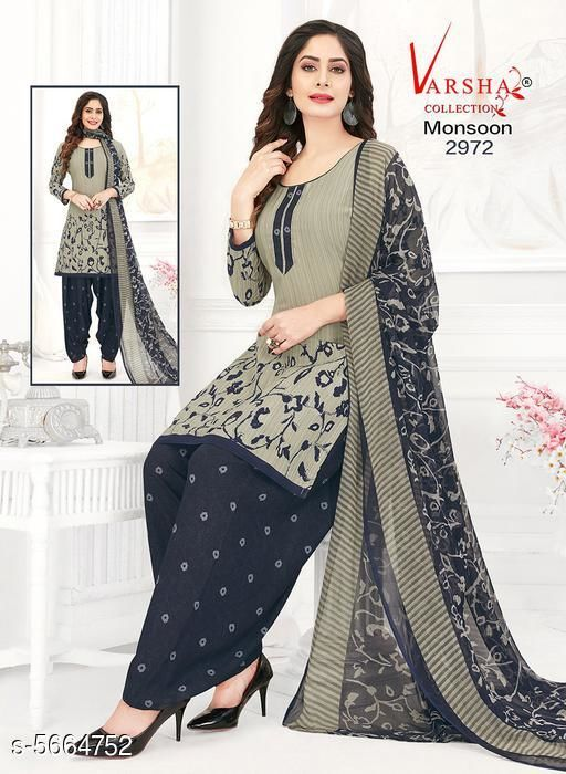 Kashvi Fancy Synthetic Printed Dress Material