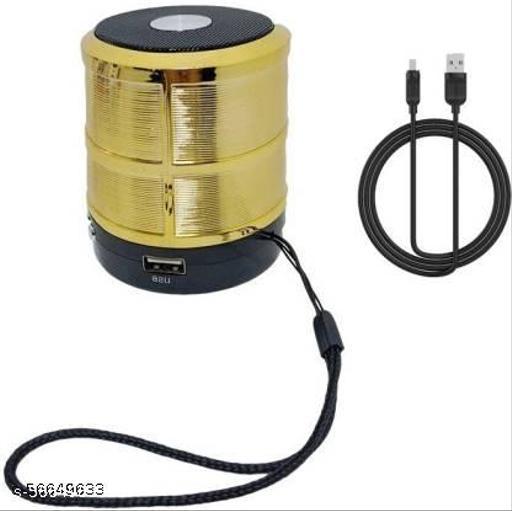 WS-887 Speaker in Built SD/Aux/FM/Pen-Drive Metal Body Speaker Loud Sound Dynamic Sound & Extra Bass {Mobile,Laptop,PC,Tablet} 5 W Bluetooth Speaker  (Blue, Stereo Channel)