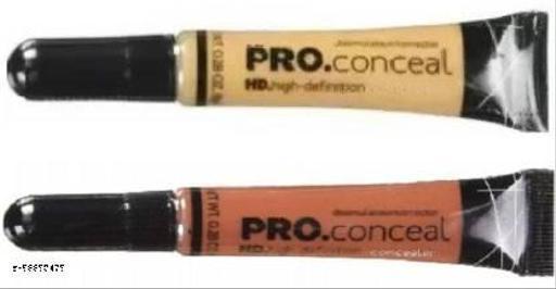 Hd pro Concealer (2pcs) (16 g) 8Gm Each Concealer  (Orange, Yellow, 16 g)