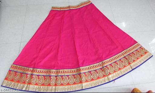 Fancy Glamorous Women Ethnic Skirts