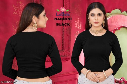 WOOLEN BLENDED STRECHABLE STICHED BLOUSE(WITH FULL WASHABLE GAURANTEE)
