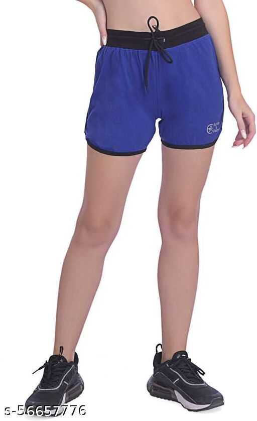 Girl's & Women's Solid Hot Pant shorts.
