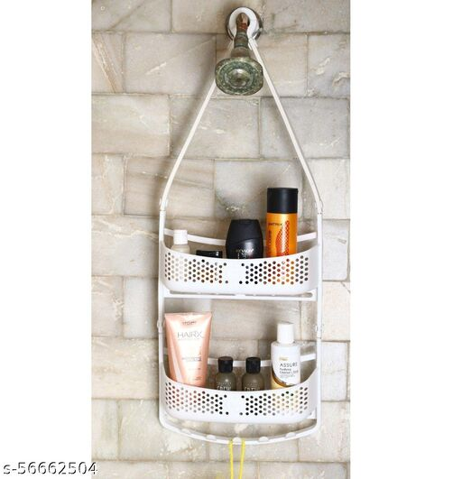 Multi-Purpose 2 Layer Shower Caddy For Bathroom Hanging