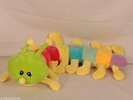 Buono Caterpiller Stuffed Toy (50 X18X10 CM)