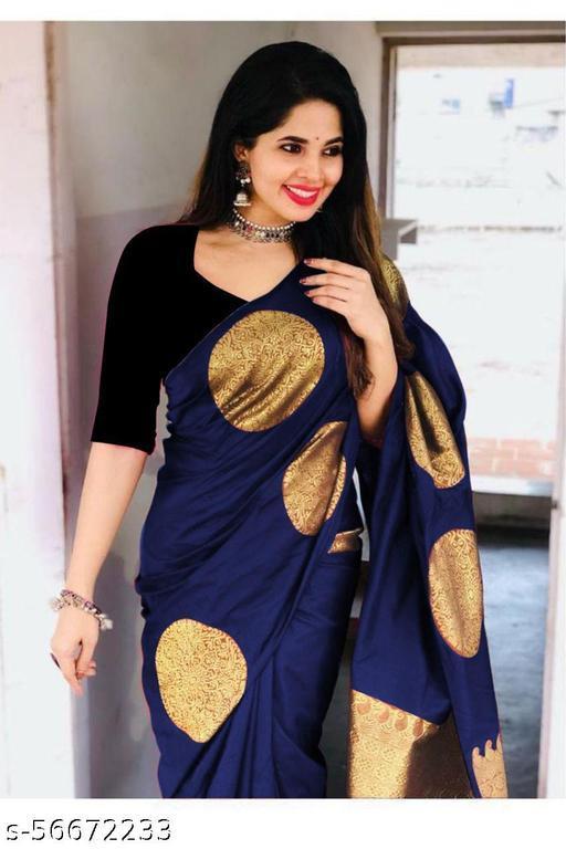 Ladies Designer Soft Litchi Silk Saree