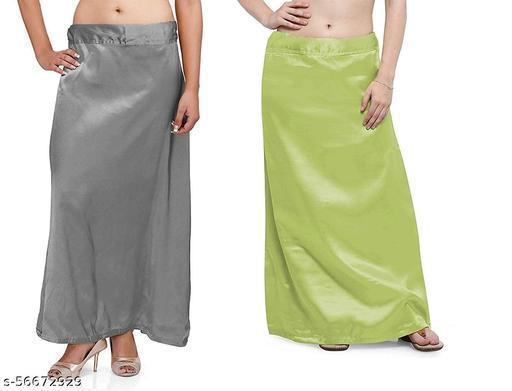 petticoats fancy satin & Cotton underwear free size Combo
