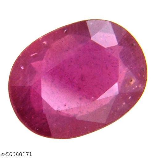 4.25 Ratti Natural Certified Red Ruby/Manik Loose Gemstone