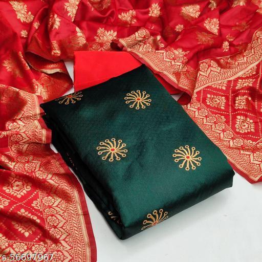 Mital Enterprise Unstitched Banarasi silk salwar suit & Dress