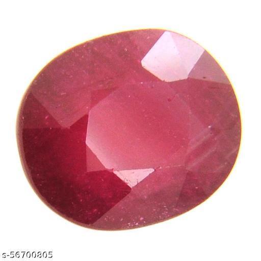 8.25 Ratti Natural Certified Red Ruby/Manik Loose Gemstone