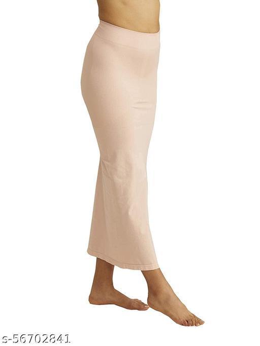 Microfiber Saree Shapewear Petticoat for Women, Cotton Blended Shape Wear for