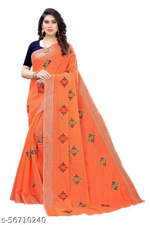 Chanderi Silk Women Saree