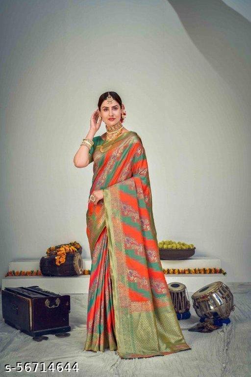 Women's Kanchipuram Art Silk Saree