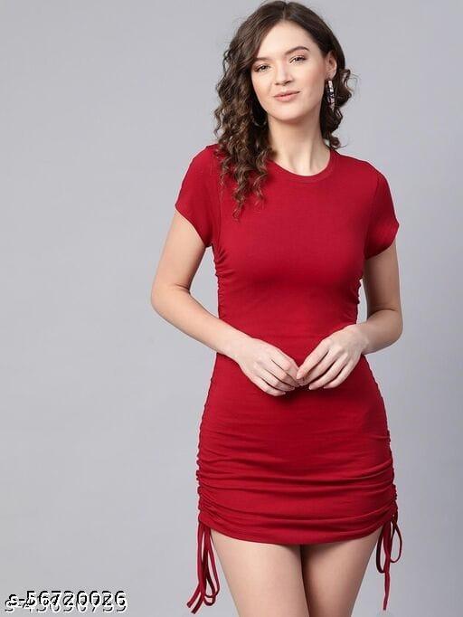 NEW FANCY STYLISH TRENDY SHORT DRESS
