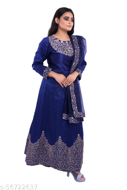 GOWN WITH DUPATTA