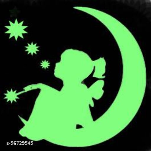 night glow  wall decal for  kids room Stickers