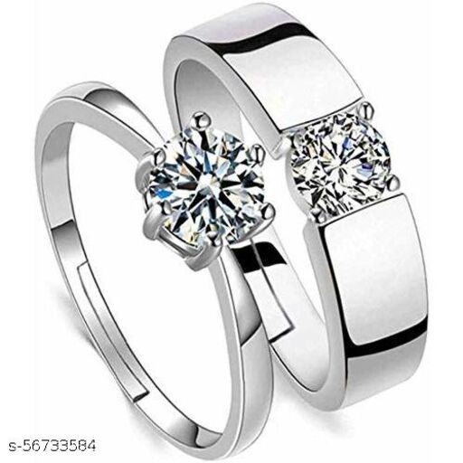 Couple Rings king and queen for true lovers & perfect Valentine Gift for your loved one