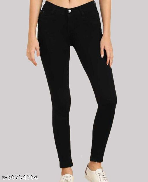 Stylish Women Denim Skinny Fit Jeans