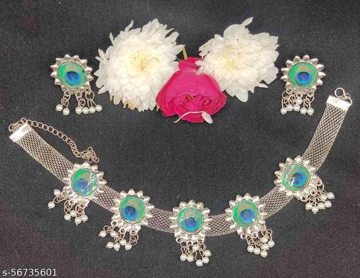 Get More Necklace Set (Mayur Pankh Design)