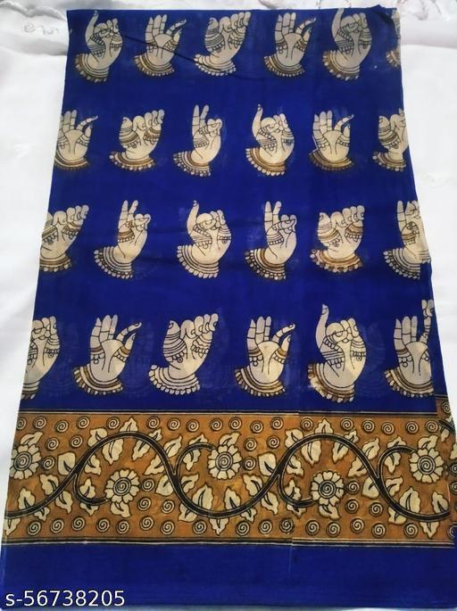 Hand Print Kaamkari Saree