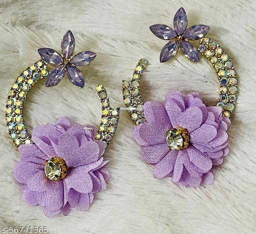 Korean Stud Earring Flower Design