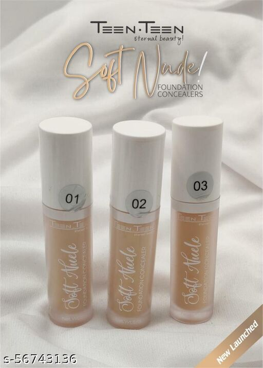 teen teen SOFT NUDE FOUNDATION  CONCEALERS
