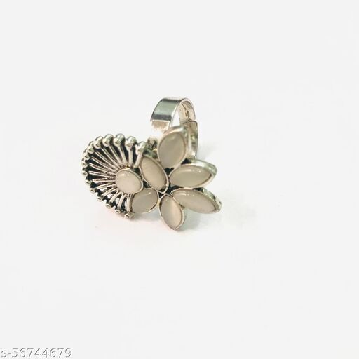 Stylish floral  rings for girls
