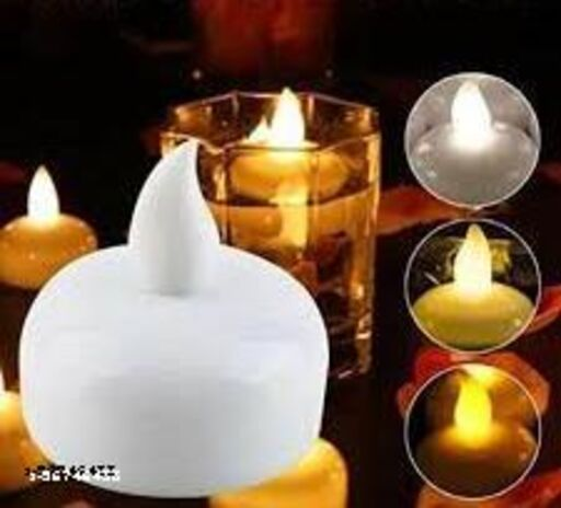 Unique Flame-less water floating Led Diya