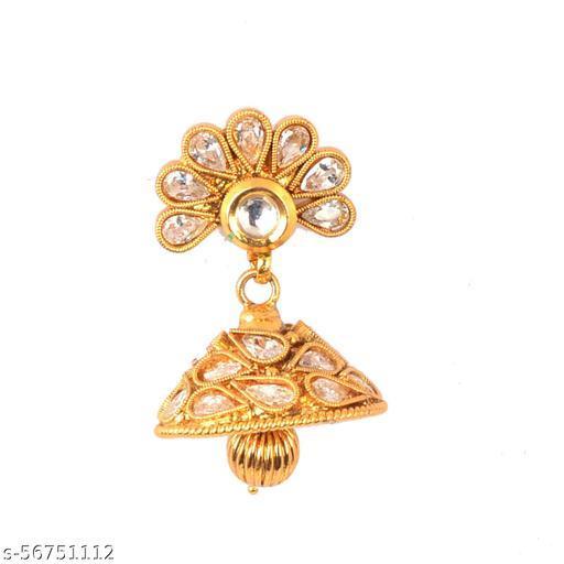 Purna jewellers mala with long earrings
