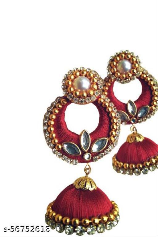 Silk Thread Earrings