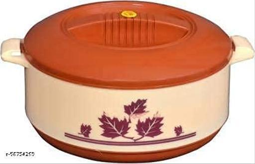 Royal Hot Pot, Casserole chapati Box, chapati Container, hot case, Thermoware Casserole (Multicolor)
