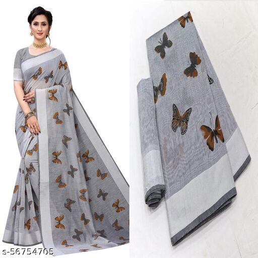 Butterfly Saree