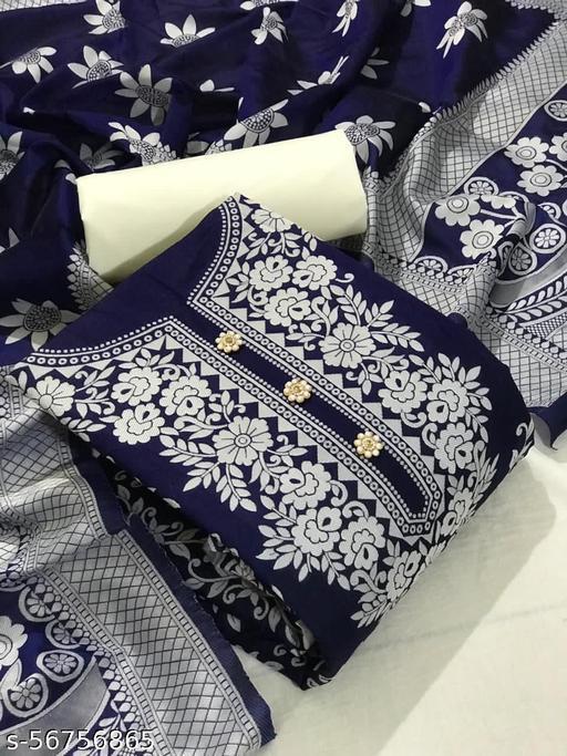 ROSE FLOWER DRESS MATERIAL