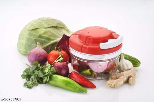 Manual Food Chopper, Compact & Powerful Hand Held Vegetable Chopper