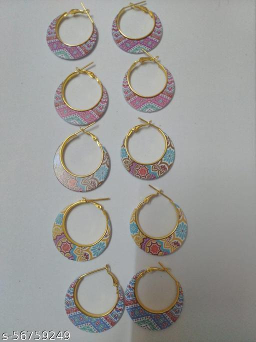 Boho style earring