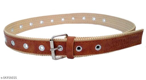 Kids Girl's Kids & Boy Casual Belt up to 8 year old kids Free Size