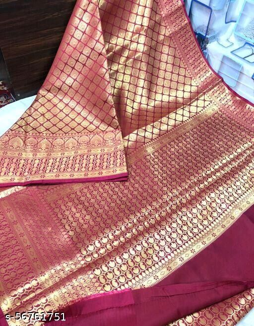 Banarasi Tapeta Silk Saree Direct Contact_8960924573